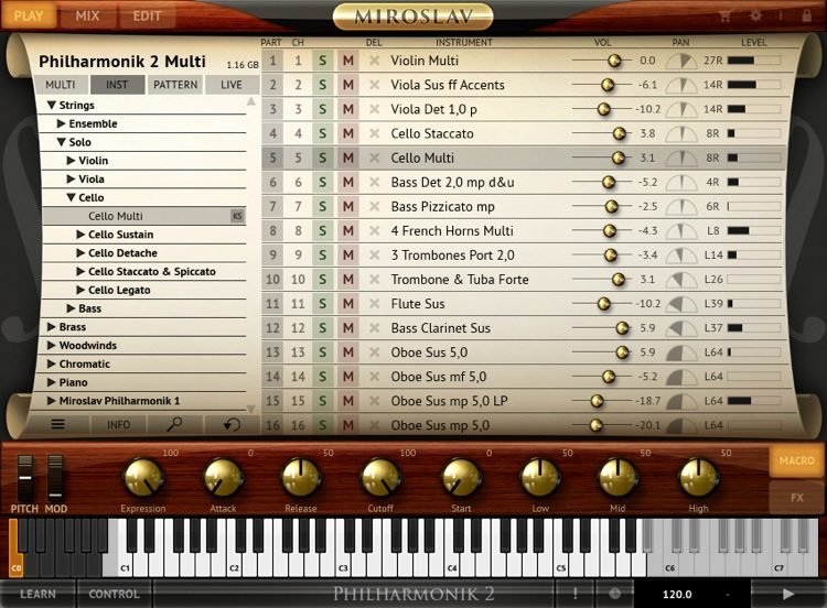 Miroslav Philharmonik 2 CE Orchestral Software Instrument (download)