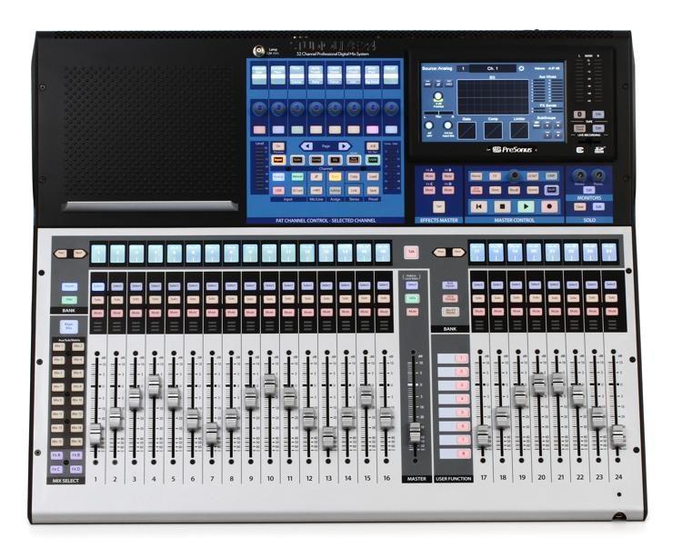 Audio Recording Interface Mit Digital Mixer Event Ezbus Pro Audio Equipment