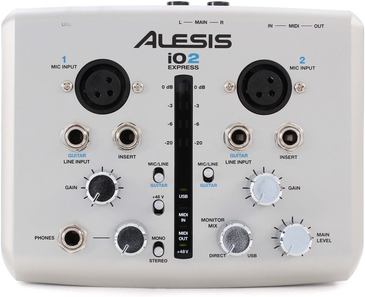 DRIVERS FOR ALESIS IO2 EXPRESS AUDIO INTERFACE
