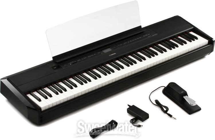 Yamaha P 515b Digital Piano Black Sweetwater