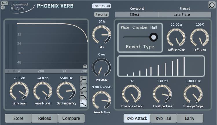Exponential Audio: Phoenix Verb