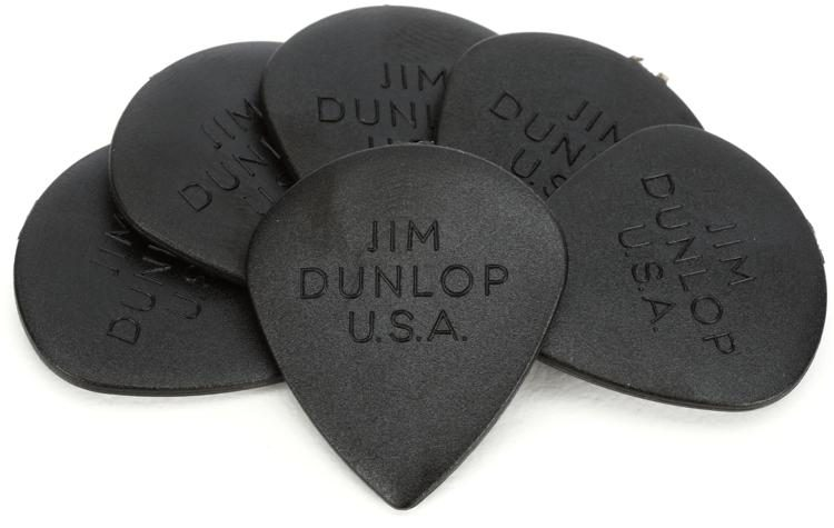 2.00 mm Dunlop Ultex Jazz III 2.0 Picks 6 pcs. Player/'s Pack black