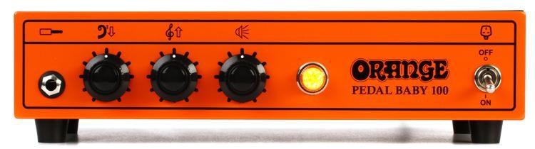 Pedal Baby 100 - 100-watt Cl A/B Power Amplifier on