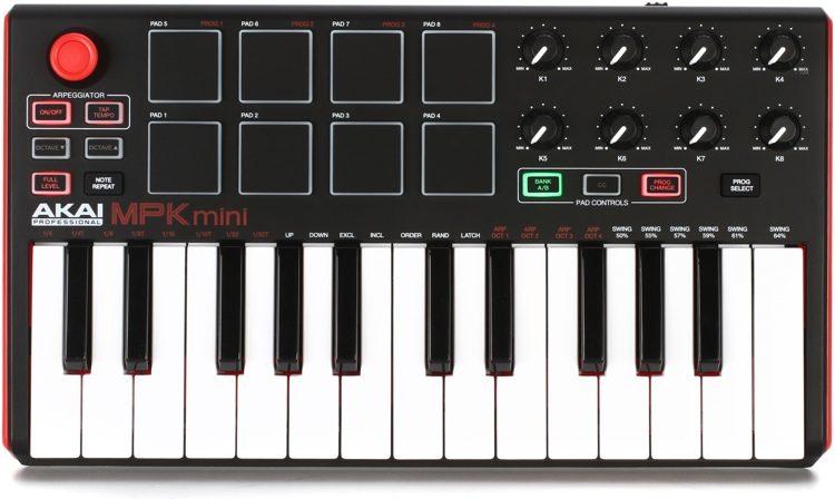 MPK Mini mkII Keyboard Controller