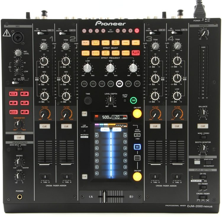 PIONEER DJM-2000NXS DJ MIXER DESCARGAR CONTROLADOR