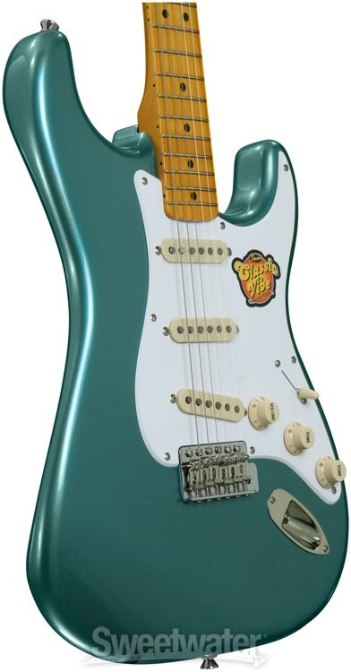 Fender Jaguar Sherwood Green Matching Headstock