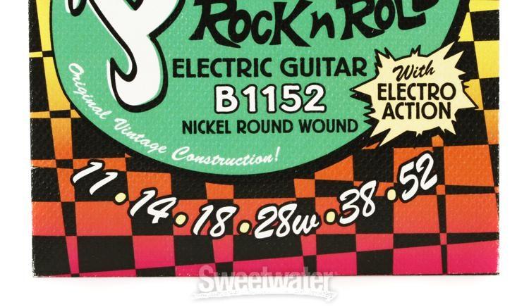 2 Pack Bundle of New La Bella Roller Wound Nickel 200 Medium Guitar Strings