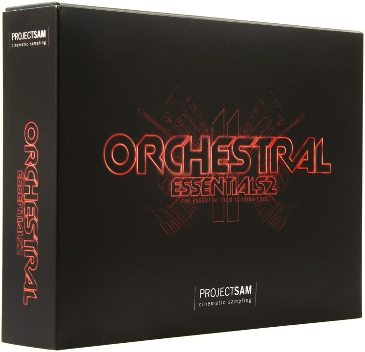 Projectsam orchestral essentials 2 (boxed) | sweetwater.