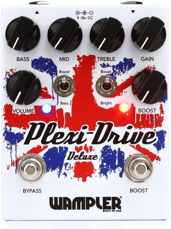 FREE 2 DAY SHIP Wampler Plexi-Drive British Deluxe Overdrive