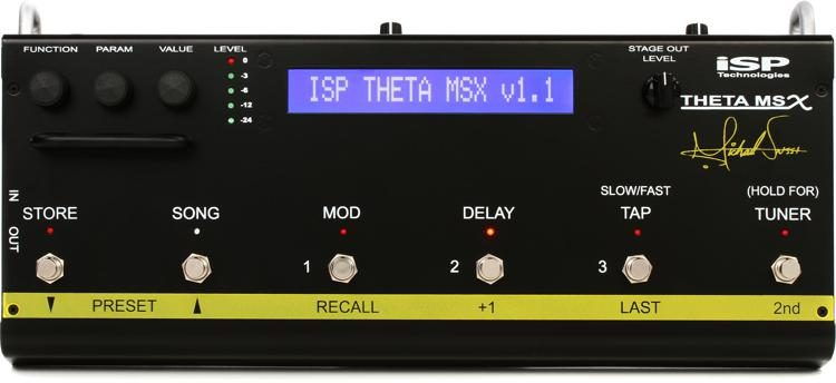 Theta MSX Michael Sweet Preamp and Multi-effects Pedal