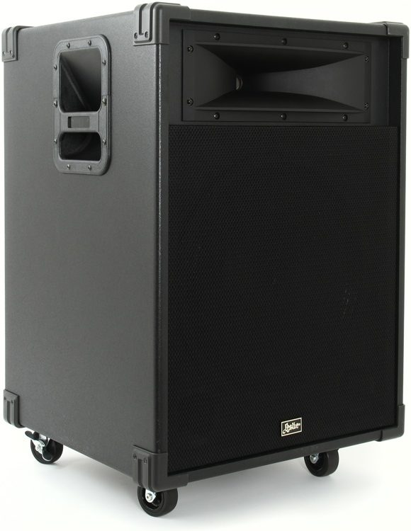 leslie model 2121 3 ch 350w 15 combo amp sweetwater rh sweetwater com Hammond Leslie 3300 Leslie 3300 Speaker Demonstration