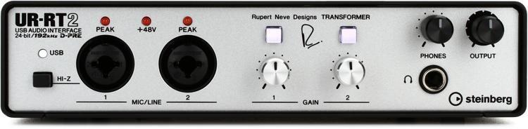 UR-RT2 USB Audio Interface with 2 Rupert Neve Transformers
