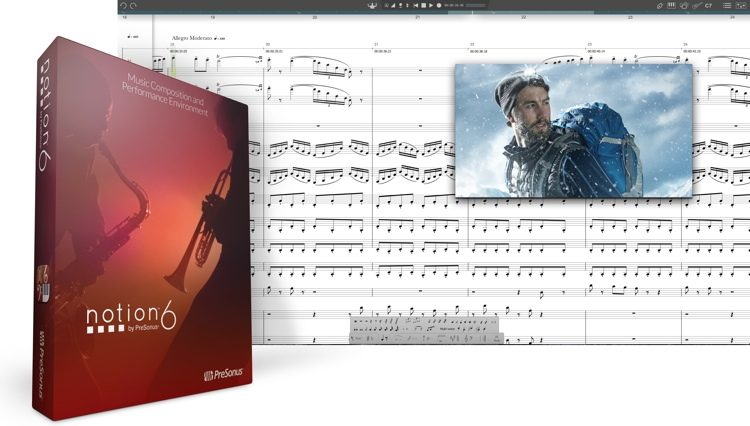 Notion 6 Music Notation Software