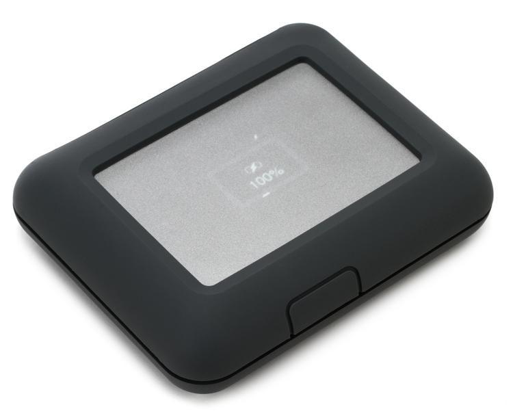 2ecc1160d LaCie DJI Copilot BOSS - 2TB Portable Hard Drive w  SD Reader image 1