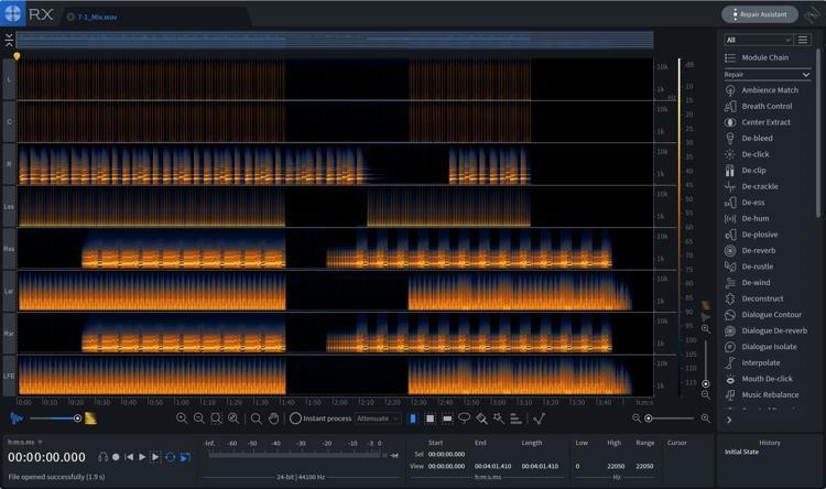 iZotope RX 7 Advanced Audio Editor - Upgrade from RX 1-6 Advanced
