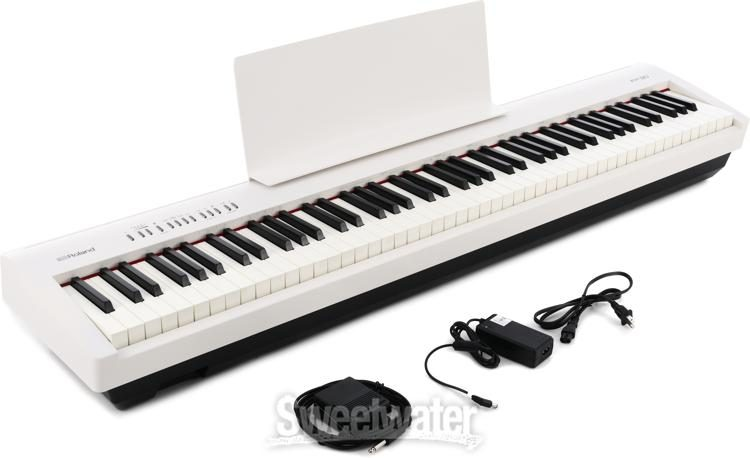 Roland Fp 30 Digital Piano With Speakers White Sweetwater