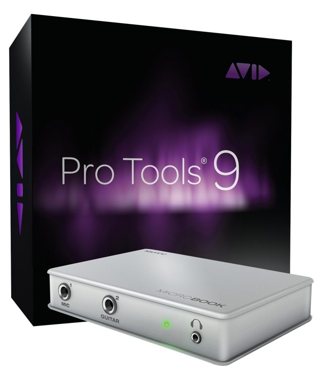 MicroBook + ProTools 9 - w/PT9 ($99 Instant Rebate!)