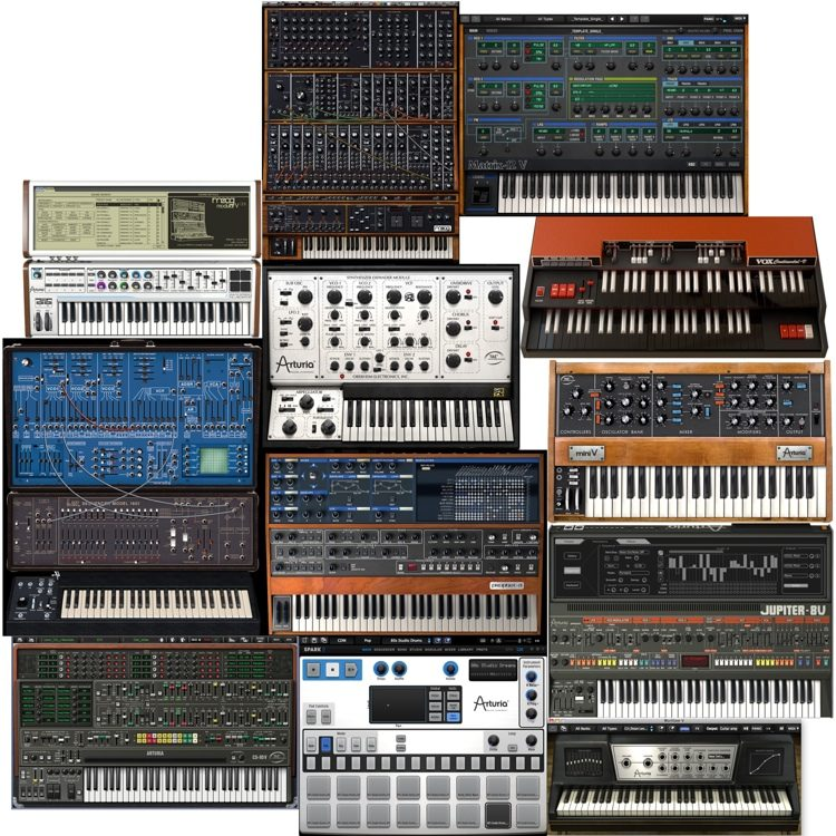 V Collection 4 Software Instrument Bundle (boxed)