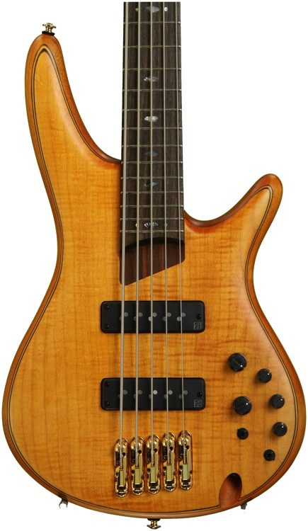 SR Premium SR1405E - 5-String Bass w/ Figured Maple Top