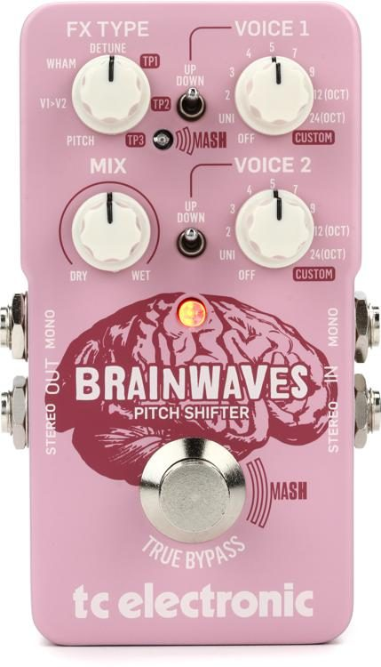 Brainwaves Pitch Shifter Pedal