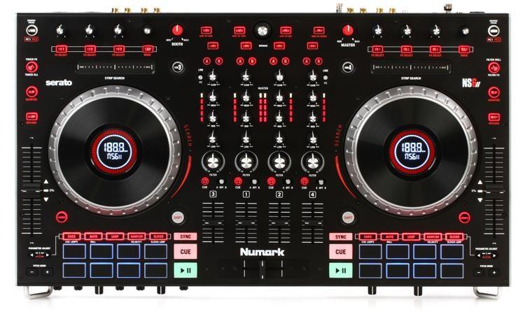 NS6 mk2 4-channel DJ Controller