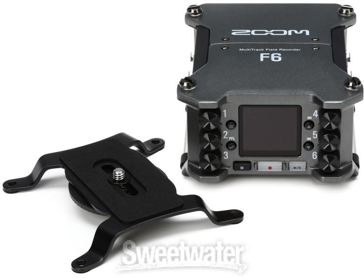 Zoom F6 Multitrack Field Recorder   Sweetwater