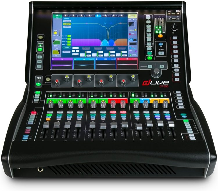 dLive C1500 Control Surface for MixRack