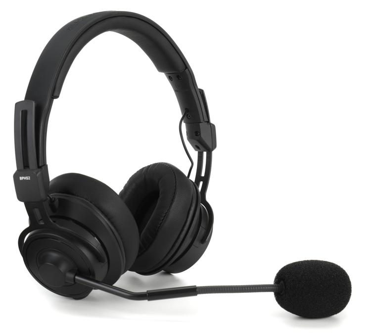 Audio Technica Bphs2 Broadcast Stereo Headset With Dynamic Boom