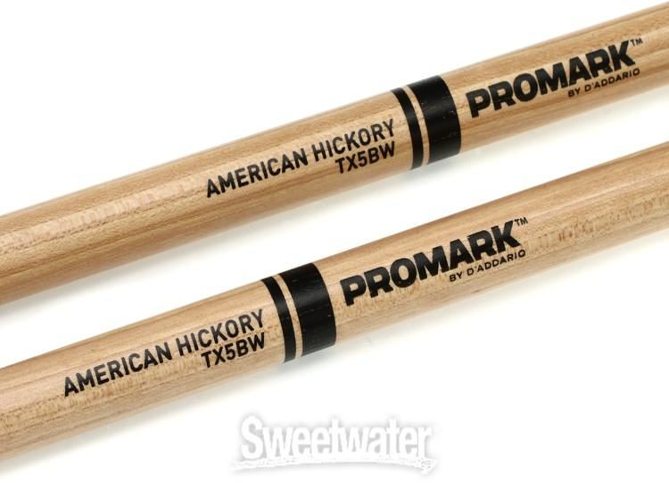 PRO-MARK TX5BW Sticks Hickory Wood Tip