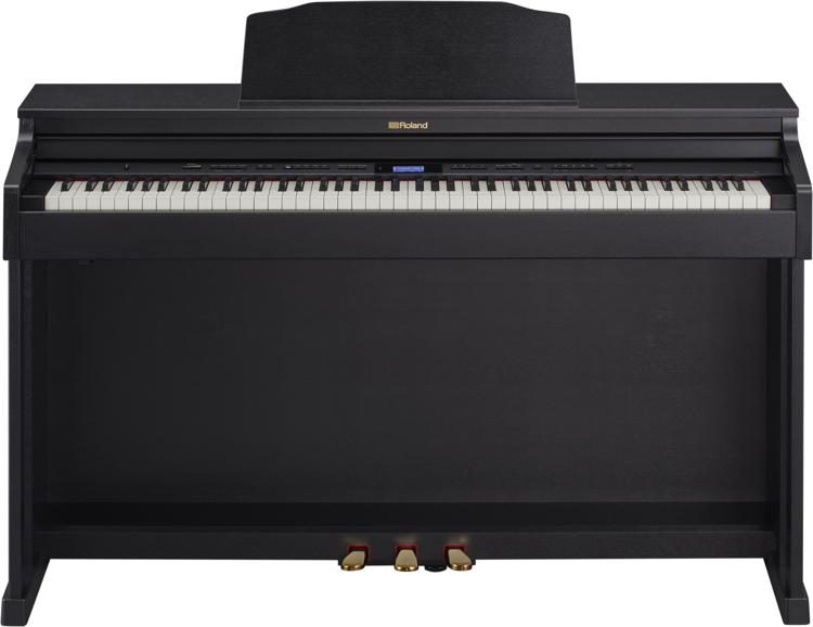 Roland HP601 Home Digital Piano - Black Finish | Sweetwater