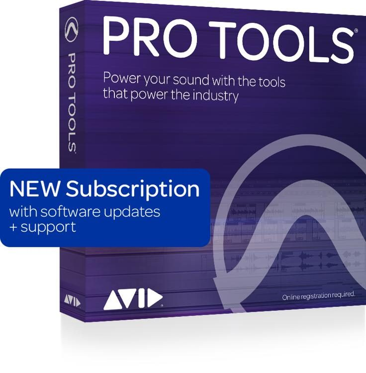 Pro Tools with 1-Year of Updates + Support Plan 1-Year Subscription  (download)