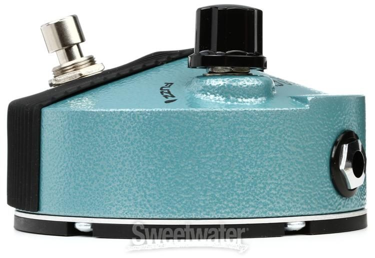 Dunlop FFM3 Jimi Hendrix Fuzz Face Mini Turquoise Guitar Pedal FREE ADAPTER