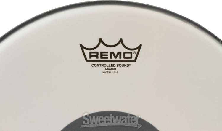 Remo CS Coated 14/'/' Black Dot CS-0114-10