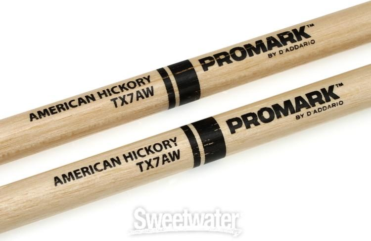 Los Cabos 7A White Hickory Drumsticks Wood Tip LC7AH Pair