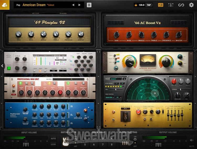 Positive Grid BIAS Amp 2 Pro guitar
