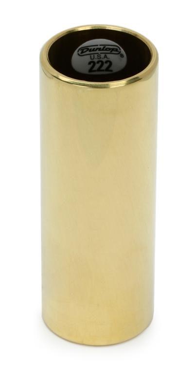Dunlop 222 Brass Slide Medium Wall Thickness Medium
