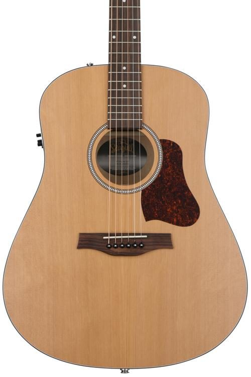 83ecde53476 Seagull Guitars S6 Cedar Original QIT - Natural   Sweetwater