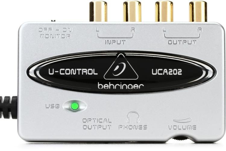 behringer u control uca202 sweetwater rh sweetwater com behringer uca202 manual download behringer uca202 review
