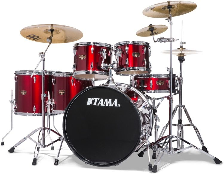Tama Imperialstar Complete Drum Set With Bonus Pack 6 Piece