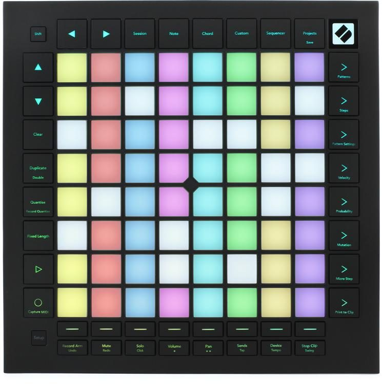 Novation Launchpad Pro Mk3 Grid Controller For Ableton Live Sweetwater