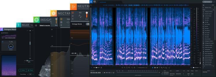 iZotope RX 8 Standard upgrade RX1-7 Restauration Software Download