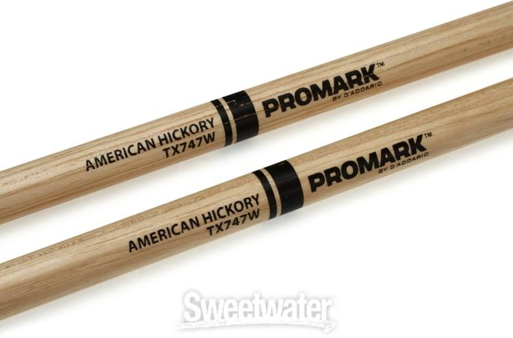 Promark American Hickory 747 Rock Drum Sticks