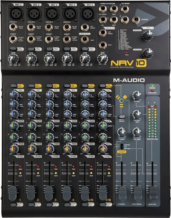 M-AUDIO NRV10 WINDOWS 7 DRIVERS DOWNLOAD