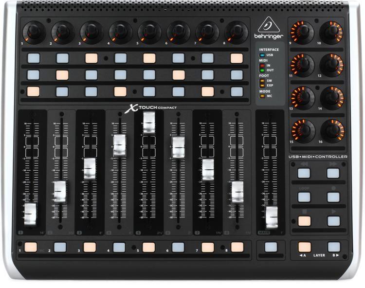 Resultado de imagem para Behringer X-Touch Compact