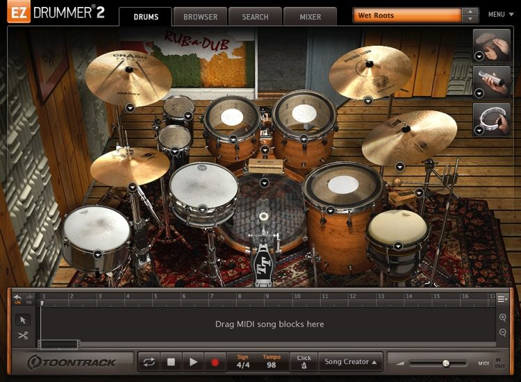 Toontrack Drum MIDI Pack | Sweetwater