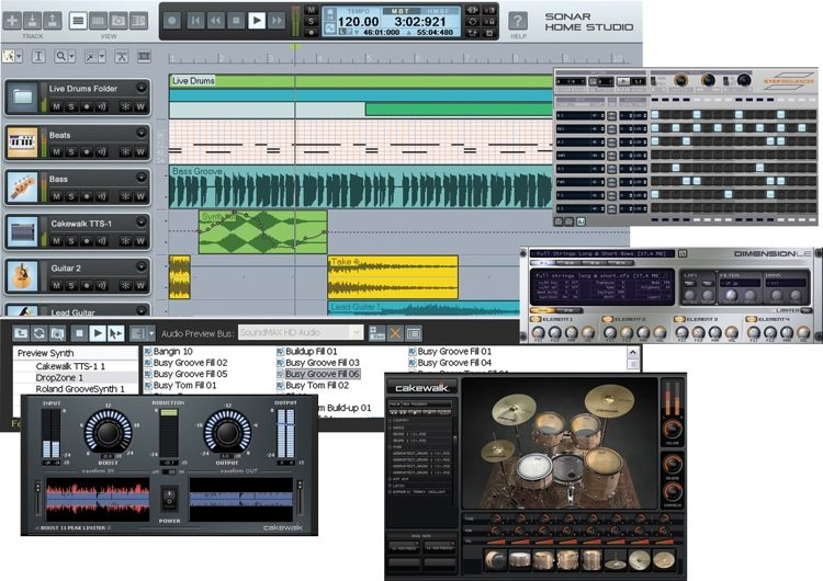 SONAR Home Studio 7 XL