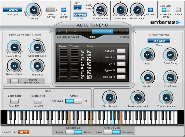 Antares Auto-Tune 8 (download) | Sweetwater