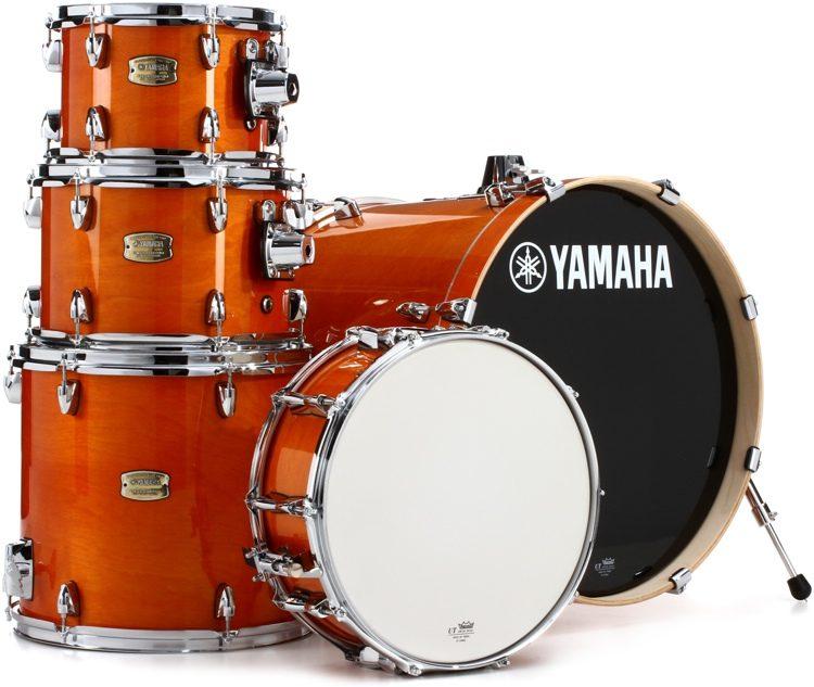 25e5a1803620 Yamaha Stage Custom Birch 5-piece Shell Pack - Honey Amber - 20