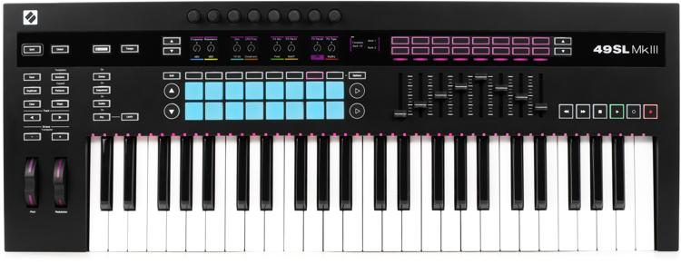 49SL MkIII Keyboard Controller with Sequencer