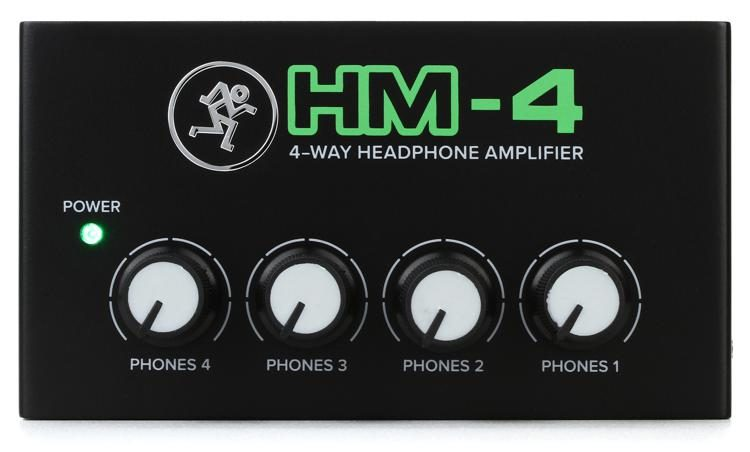 Mackie HM4 4 Way Headphone Amplifier